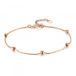ALTIN BİLEKLİK TOPLU ROSE GOLD AB03